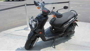 2009 YAMAHA ZUMA 125 (this photo is for example only; please contact seller for pics of the actual motor scooter for sale in this classified)