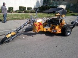 2011 Chopper Trike with Sound System and Double Rear Tire