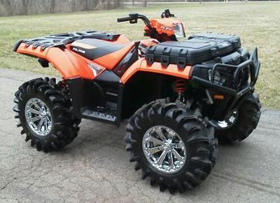 2012 Polaris Sportsman 850XP (this photo is for example only; please contact seller for pics of the actual used ATV for sale in this classified)