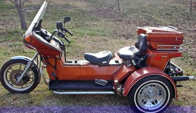 2002 VW Trike for Sale trike was built with a 1600cc 4 cylinder engine with a 2 barrel carburator and 4 speed transmission