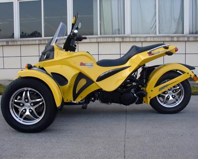Can Am Style Reverse Trike Motorcycle 250 cc