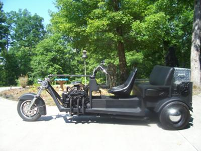2.8L Engine Chevy V6 Trike Motorcycle w Stock S-10 Truck Rear End