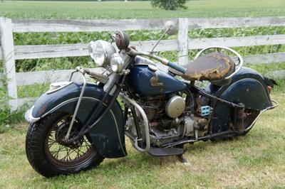 Classic 1941 Indian Four Motorcycle