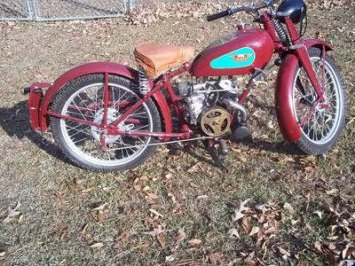 1947 James Famous James ML125 Motorcycle