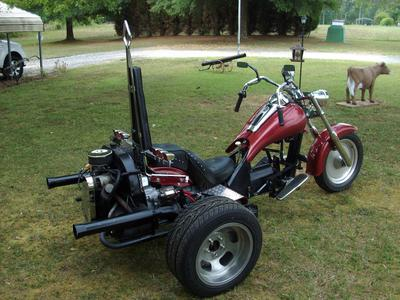 Cool, Custom VW Trike for Sale in NC North Carolina