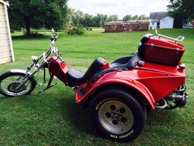 Custom Built 2007 VW Trike Motorcycle