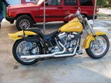 2004 CUSTOM BUILT SOFTAIL HOUSE of KOLOR PAINT