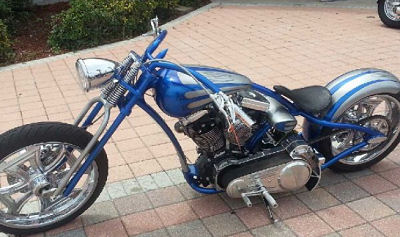 Custom 1500cc Redneck Indian Chopper Motorcycle