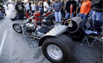 Street legal Custom V8 Trike