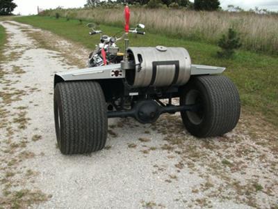 Custom V8 Trike w Wide Rear Tires