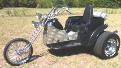 Custom 1600 VW Trike