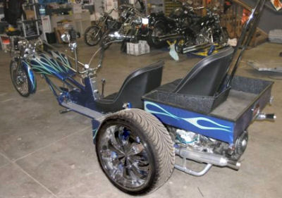 VW 3 Wheeler Air Ride Trike Kit