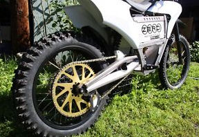 2009 Zero emissions electric dirt bike motorcycle