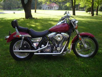 fxrs with drag bars and drag pipes 1985 harley davidson fxrs for sale. Black Bedroom Furniture Sets. Home Design Ideas