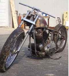 1974 Harley Davidson Ironhead sportster basket case