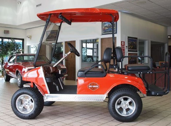 2005 Club Car Custom Golf Cart electric