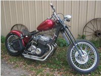 1973 CB 750 HONDA CHOPPER BOBBER CUSTOM
