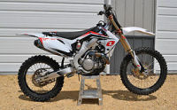 2012 Honda CRF450 Dirt Racing Race Bike