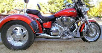 2003 Honda VTX 1800c Trike motorcycle