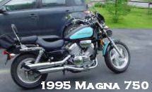 1995 honda magna 750