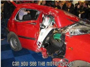 Horrible Motorcycle Accident Picture