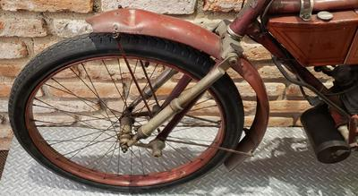 Old NSU 1908 Motorcycle