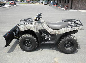 2008 Kawasaki KVF650 BRUTE FORCE camouflage camo winch plow