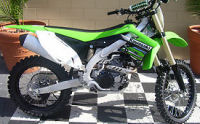 2012 Kawasaki KX450 dirt bike