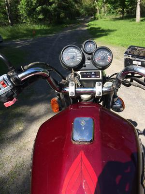 Kawasaki LTD 750 Odometer Reading