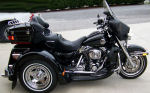 2004 Harley Davidson Ultra Classic Lehman Trike Conversion Kit Motorcycle