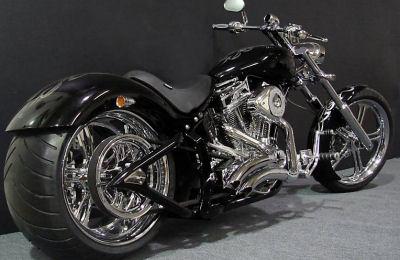 custom pro street chopper motorcycle kit built