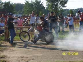 motorcycle rally 2006 pictures pics picture burnout contest