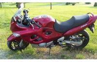2006 Suzuki GSX Katana motorcycle custom painted