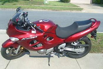 2006 Suzuki GSX Katana red 750