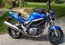 2007 Suzuki SV 650 SV650 blue