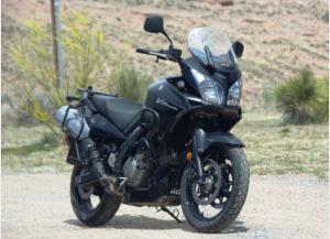 black 2008 Suzuki DL650 V Strom ABS