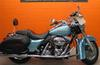 2007 Harley Davidson Road King Custom FLHRS with Suede Blue Pearl Paint color Option