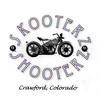 2013 Skooterz & Shooterz Motorcycle Rally Flyer Logo