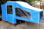 Used Time Out Motorcycle Camper with Screen Room