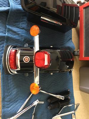 Used 2012 Harley Davidson Electra Glide Limited Rear fender