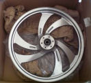 OEM Aluminum 2008 Victory Vegas stock front motorcycle wheel 21 x 2.15