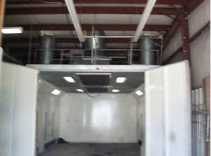 viking auto motorcycle paint booth picture for sale