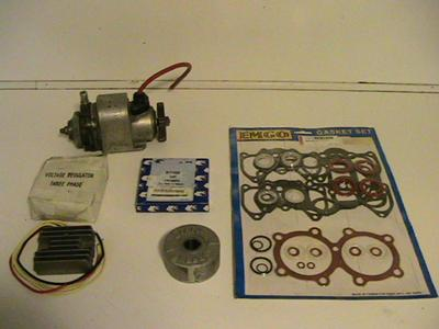 / Top end gasket set/Rings/Regulator,Magneto