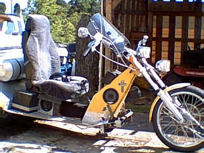 2006 VW Custom Built Trike w 1600cc motor 12 inch wide Cobra tires and rims, reclining bucket seat 5 foot aluminum job box ror storage,  10 gal. aluminum fuel tank, trailer hitch