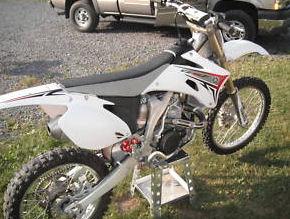 2008 Yamaha YZ 450 yz450 white