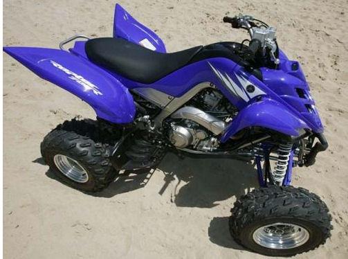 2007 YAMAHA RAPTOR 700 QUAD ATV