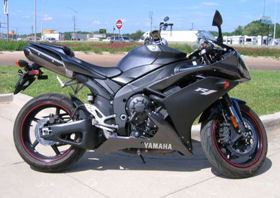 2007 Yamaha YZF-R1 charcoal gray black