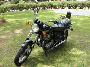 Yamaha 650 Heritage Special Motorcycle