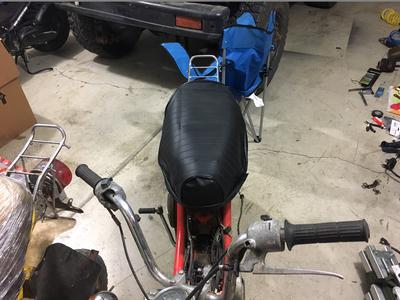 Two Yamaha Chappy LB80 scooter bike for sale or trade