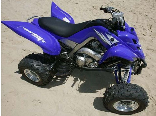 2007 YAMAHA RAPTOR 700 QUAD ATV
